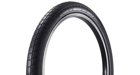 SCHWALBE Big Apple - Pneu Enfant - Performance 20 pouces RaceGuard rigide Reflex noir